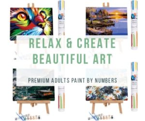 How to easily paint beautiful works of art.