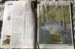 Cross Stitch Collection magazine pattern example.